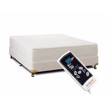 Cama Box Dupla - Colchão Magnético Vibro Massagem King Size