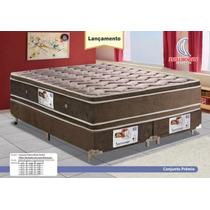 Conjunto Box Completo Casal Queen Size Newsonno Premio One F