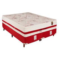 Conjunto Casal Colchao E Box Agility Molas Ensaca138x188x73