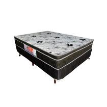 Colchao Casal Ortópedico E Box D28 158x198x64 Inmetro