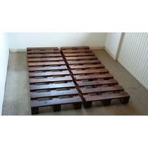 Paletes Para Camas De Casal 1,90 X 1,60 (( Madeira )) Novo