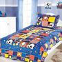 Nova Colcha Infantil Patchwork Disney Solteiro Mickey Camesa
