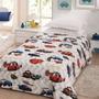 Manta Cobertor Jolitex Disney Carros Juvenil 1,50x2,20 Linda