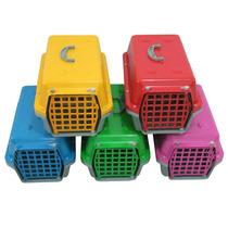 Caixa De Transporte Cães E Gatos Nº 1 Super Promoção Ótima!!