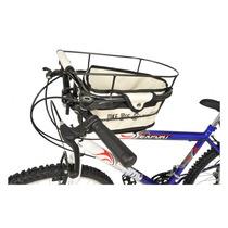 Cestinha/cadeirinha P/ Transporte De Cachorros Na Bike Dog