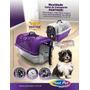 Caixa De Transporte Para Animais Com Bebedouro Nº01 - Preta
