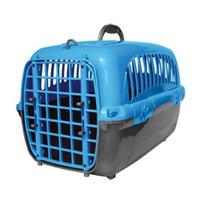 Caixa Transporte Cães Gatos Tamanho 3 Com Grade Urina Cores