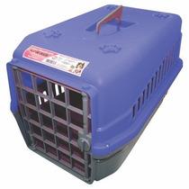 Caixa De Transporte Furacão Pet N1(pequena) P/ Cães E Gatos