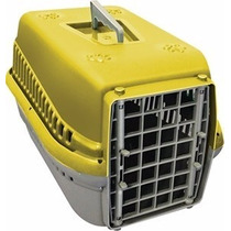 Caixa Transporte Cães Gatos Pet Shop Mecpet Tamanho 1 Cores