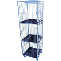 Canil Para Pet Shops Com 03 Lugares