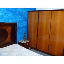 Cama Casal C/ Dois Criados C/ Marmore E Guarda-roupas