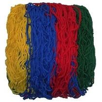 Rede De Proteção Colorida Para Cama Elástica De 2,44 M