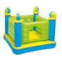Pula Pula Inflável Castelo Intex Cama Elástica 48257 Verde