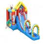 Castelo Pula Pula Inflável Jump Cama Elástica Circus 7x1