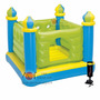 Pula Pula Inflável Infantil Castelo Verde Intex Bomba Manual