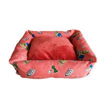 Cama Sofá Pra Pet Pequeno / Cachorro Gato / Caminha Médio 18
