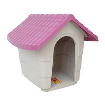 Casa De Plástico P Casinha Pet Cães E Gatos Várias Cores