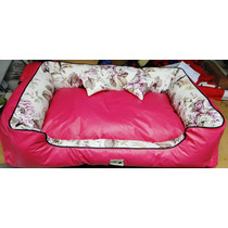 Cama Sofá Cachorro Grande Corvin Bolita Pet Pink