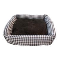 Cama Para Cães Gatos Cama Pet Com Almofada Tam M Luxo M7