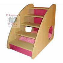 Cama Escada Box Luxo,caminha Interna, Alt.55cm Resistente