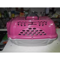 Caixa De Transporte Para Cães/gatos N1 Plast Pet