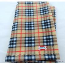 Cobertor Pet Cachorro Soft Xadrez 90x70cm