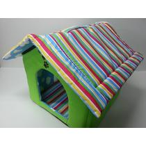 Casa Cama Pet Para Cachorro Dobrável Lavável Tamanho Grande