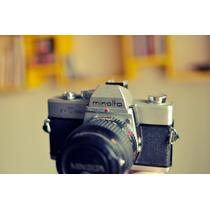 Câmera Analógica Minolta Srt101b Filme 35mm