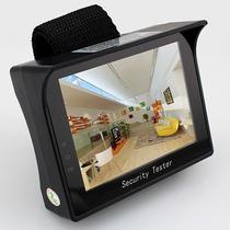 Testador De Cftv Cameras Portatil Tela 3,5 De Pulso
