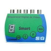 Sequenciador Digital De Vídeo 4x1 4 Cameras Original Seg