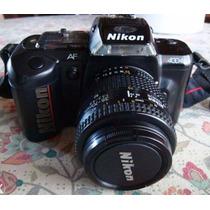 Câmera Nikon N4004s + Lente Nikkor Filme 35 Analógica Pereit
