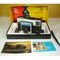 Maquina Fotografica Antiga Kodak Instamatic X-15 Na Caixa