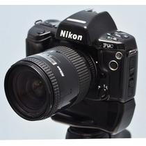 Câmera Nikon F90 + Lente + Grip Nikkor Filme 35 Frete Gratis