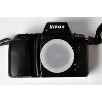 Máquina Fotográfica Analógica Nikon F70 Mais 3 Lentes