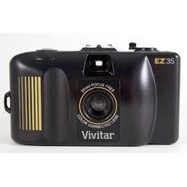 Câmera Fotográfica Antiga Sem Filme Vivitar 35mm Nova