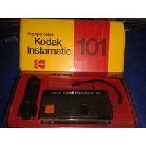 Máquina Fotográfica Kodak 101 - Muito Nova !!! Na Caixa Orig