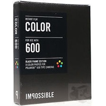 Filme Polaroid 600/635 Color Impossible Mold/black En/gratis
