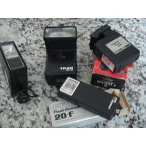Flash Maquina Fotografica - Lote C/ 4 Unidades-leia+