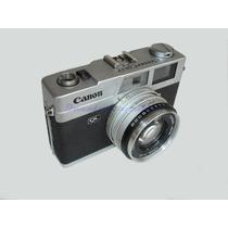 Maquina Fotografica Canonet Ql17 Canon - Quebrada Rest Ret