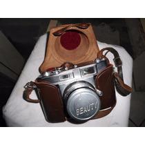 Antiga Câmera Beauty Super Ii Década 60 Fabricada No Japão
