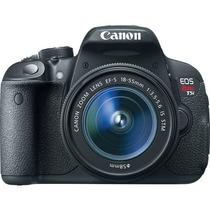 Canon Câmera Dslr Eos Rebel T5i Com Lente 18-55mm