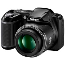 Câmera Digital Semi Profissional L330 20.2 Mp Preta Nikon
