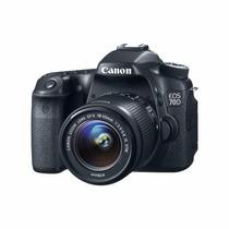 Maquina Canon Eos 70d Ef-s 18-55mm 20.2 Mp, Full Hd