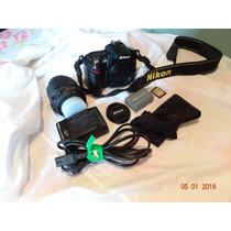 Câmera Nikon D90 C/ Lente 18-55 Semi Nova