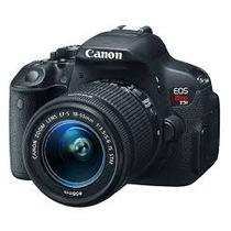 Camera Canon T5i 700d + Lente 18-55mm + Maleta + Cartão16gb