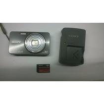 Camera Digital Sony W570 16.1mp Display Lcd Peças No Estado