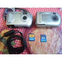 Camera Digital Kodak 3.3mp E Outra 2.mp Cabo E Cartao Memori