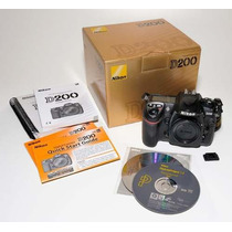 Nikon D200 Câmera Digital Profissional - Oferta!!!