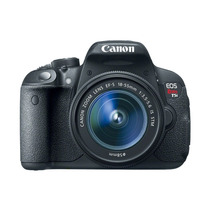 Camera Canon Rebel T5i Lente 18-55mm +32gb+bolsa+tripe+nfe