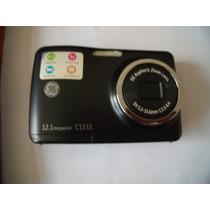 Camera Ge C1233 Preta Funcionando Praticamente Nova